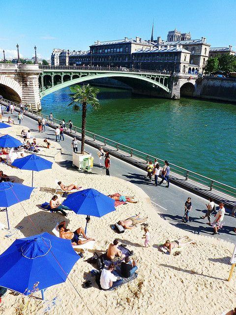 Paris Plage. Paris, Francia. | by ..LauEsplendix..