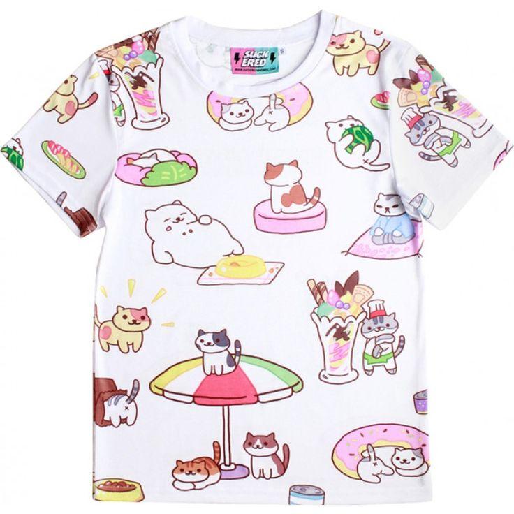 Suckered Apparel - Neko Atsume T-Shirt