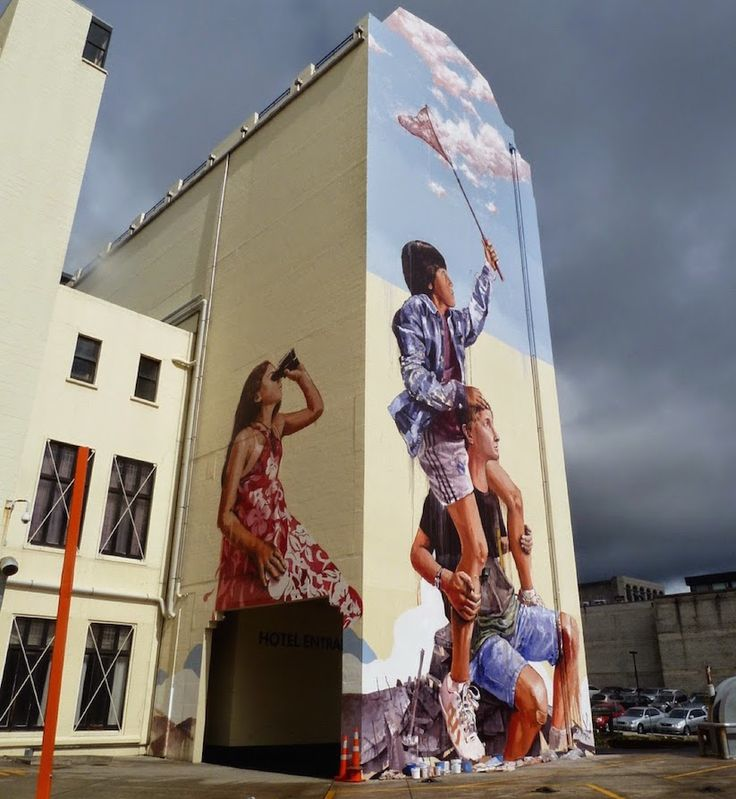 Street Art by Fintan Magee on www.inspiration-now.com