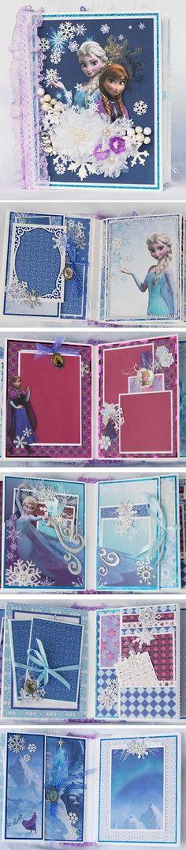 Terry's Scrapbooks: Disney Frozen Mini Album J&S Hobbies and Crafts de...