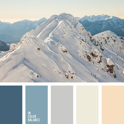 Color combo that was inspired by winter and nature. Winter time, color…