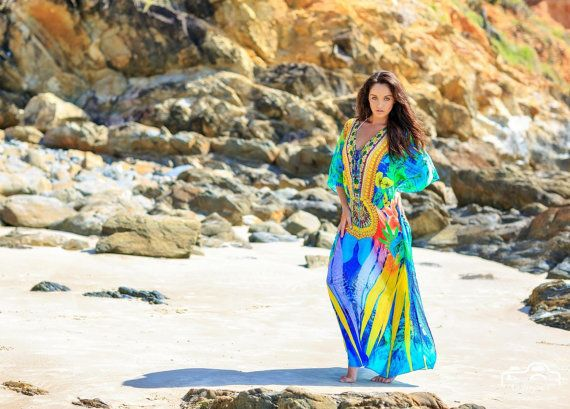 One size kaftan    by wildorchidaustralia on Etsy
