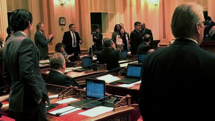 VIDEO: State Sen. Janet Nguyen removed from floor after criticizing late Sen. Tom Hayden