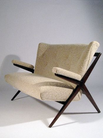 Franco Albini, Settee for Singer & Sons, 1950.