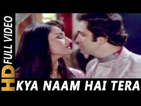 Kya Naam Hai Tera | Kishore Kumar, Asha Bhosle | Naukar Biwi Ka 1983 Songs | Reena Roy, Rishi Kapoor - YouTube
