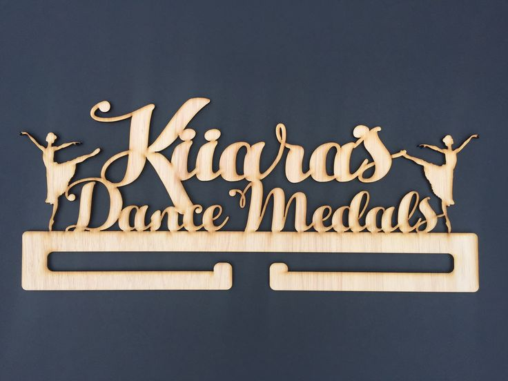 Kiiara loves to dance. And loves to show off her medals on her very own dance medal holder.