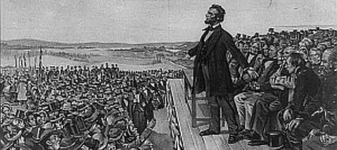 Gettysburg Address lesson plans with video