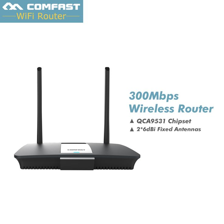 300Mbps industrial Comfast  CF-WR610N wireless wifi router with dual antenna QCA9531 chipset 4 RJ45 LAN 1 WAN #Affiliate
