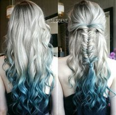 Hair Color Ideas: Dip Dye Hair