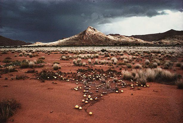 "David Moore ""Musgrave Range Landscape, Ernabella South Australia"" 1977"