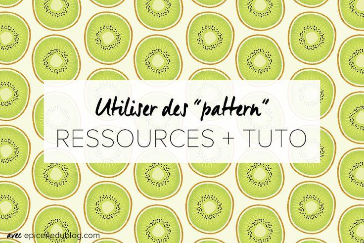 Utiliser un pattern: 3 ressources gratuites et 2 tutoriels (photoshop + CSS)