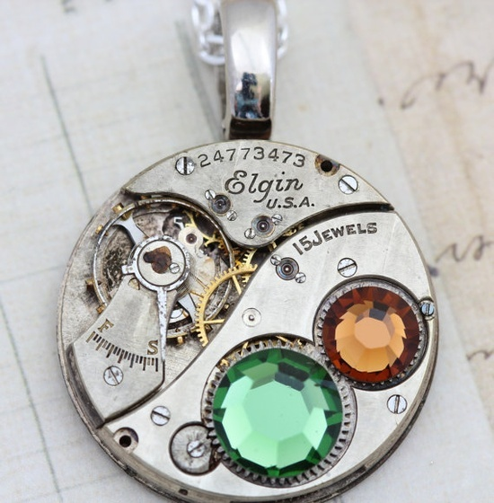 Love this . . . Steampunk Necklace  Steam Punk Jewelry  by inspiredbyelizabeth