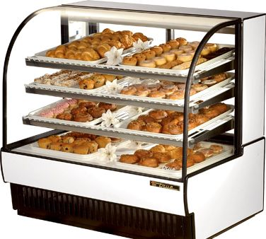 TRUE Curved Glass Non Refrigerated Case