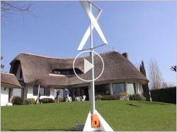 Une nouvelle éolienne à installer dans son jardin