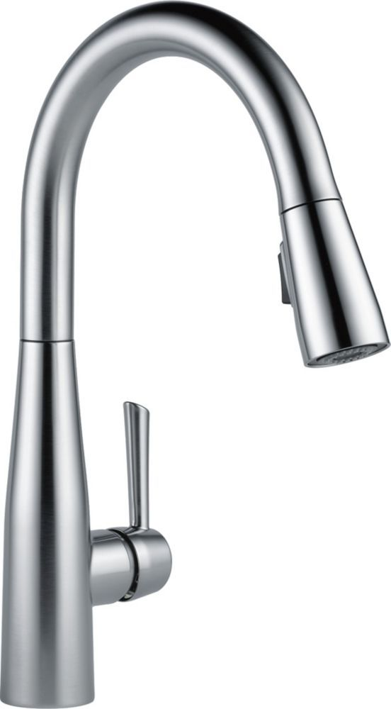 Essa Single Handle Pull Down Kitchen Faucet Arctic Stainless