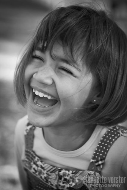 laughter in her eyes