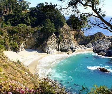 One perfect summer getaway? This secluded beach in Big Sur, CA.