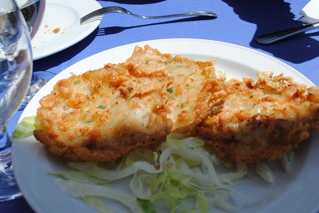 Tortillitas de camarones - Garnelenomelette