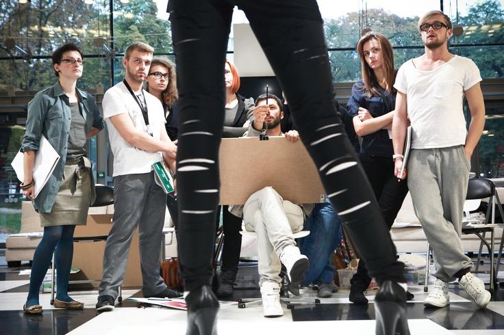 AF Workshops Fashion Drawing tutor: Tomek Sadurski #fashion #drawing #workshops #sadurski #art #festival #starybrowar #poznan