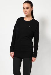 Sweatshirts are an essential part of your winter wardrobe and therefore Adidas brings to you this super-stylish sweatshirt. Black in colour, this sweatshirt will lend you a trendy appearance when paired with skinny-fit jeans and canvas shoes. Made from 100% cotton, it is light in weight and will ensure breathability all day long.