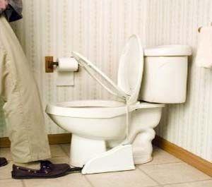 la fin des embrouilles conjugales pour la planche des toilettes