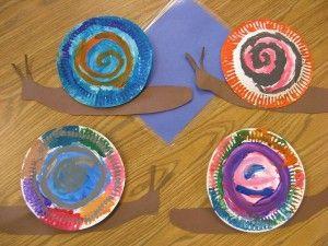 Snail Craft For Kids Crafts And Worksheets PreschoolToddler Kindergarten
