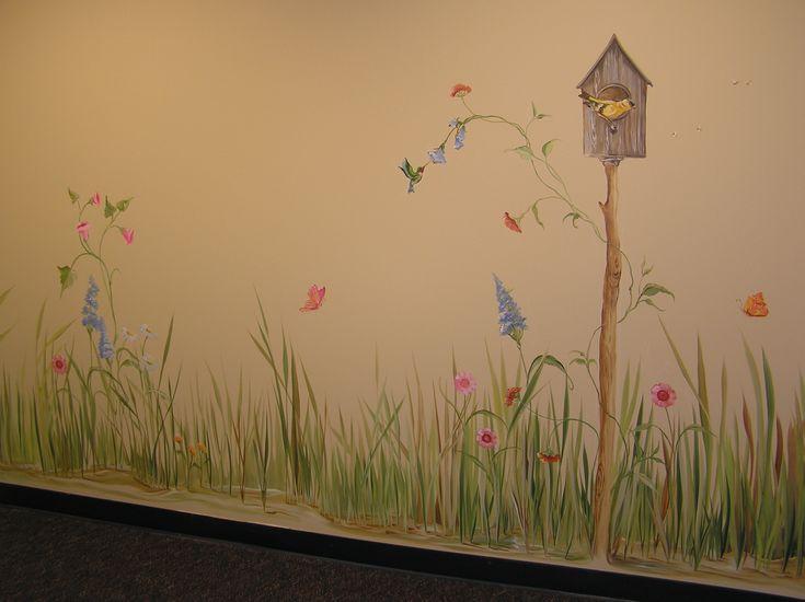 Best 25 kids room murals ideas on pinterest for Fairy wall mural