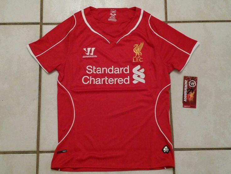 NWT WARRIOR Liverpool FC Home Soccer Jersey Ladies Size 4 in Sports Mem, Cards & Fan Shop, Fan Apparel & Souvenirs, Soccer-International Clubs | eBay