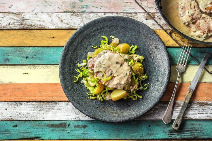 Pork Fillet with Tarragon Recipe   HelloFresh