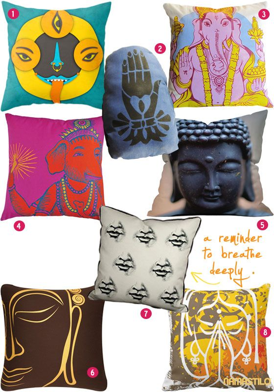 spiritual home pillows. Gonna need at least one of these! ;)