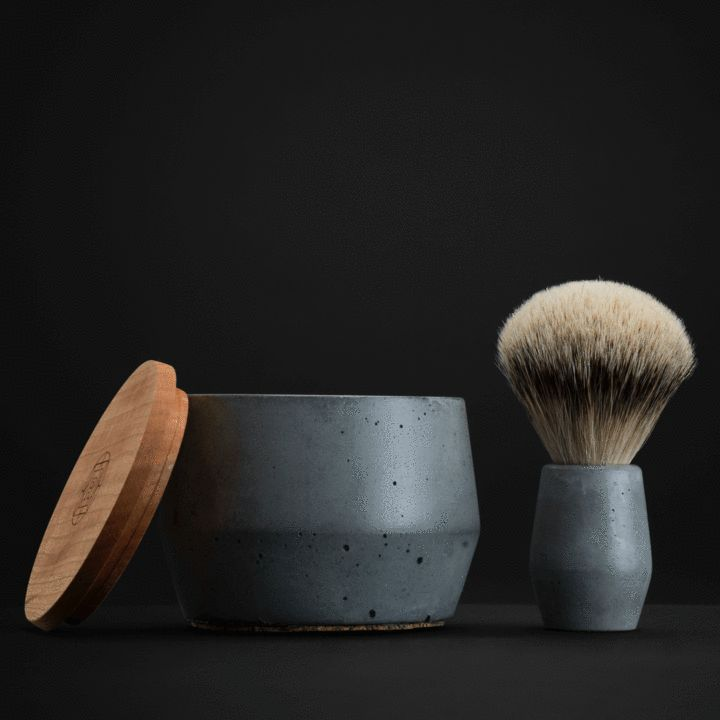 Collaboration with AtelierB. Rituels Shaving Brush, Soap and Bowl Set