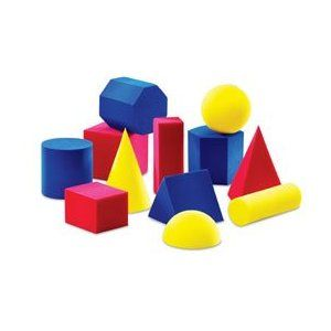 Lots of ideas for teaching shapes 2D and 3D. Even has some performance tasks!