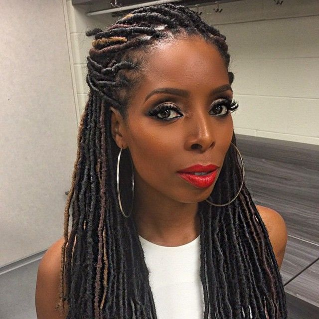 Groovy 1000 Images About Faux Locs On Pinterest Short Hairstyles Gunalazisus
