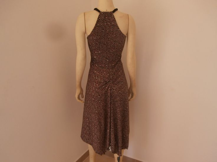 Milonga Tango Dress / Salsa Dress fits US 4 and 6  Dance  - Dress with Sparkles and with Fishtail by COCOsDANCEWEAR on Etsy