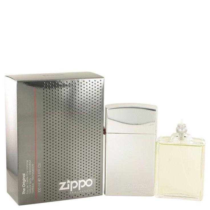 Zippo Original by Zippo Eau De Toilette Spray Refillable 3.4 oz