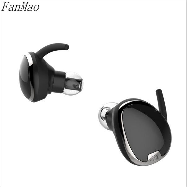 Mimi Binaural Twins Invisible Motion Stereo Music Headset TWS In-Ear Bluetooth 4.1 Wireless Headset Earbud Sports Headphones