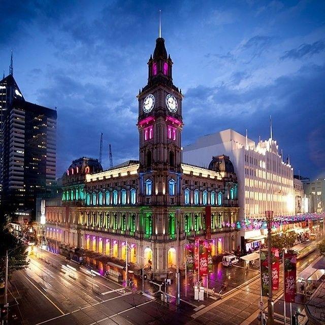 @melbournesgpo illuminated for #whitenightmelb #seeaustralia