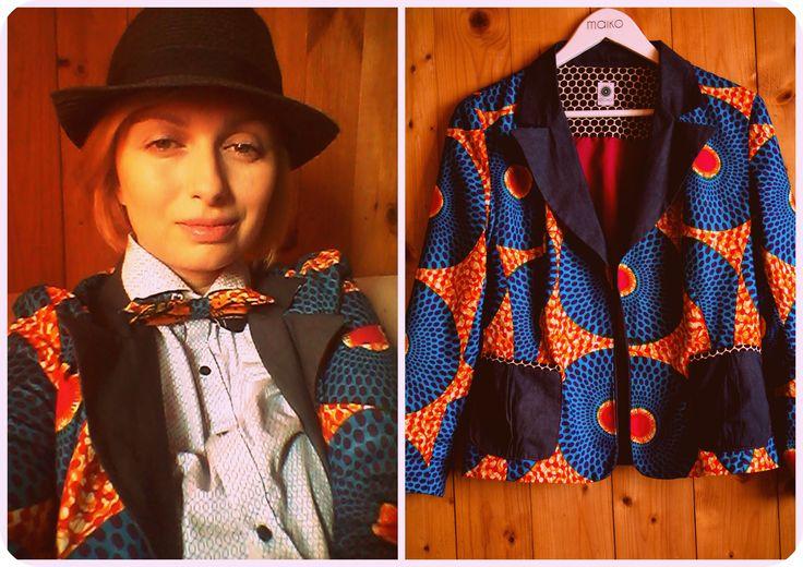 African jacket by Aleksandra Majczyna maiko.pl