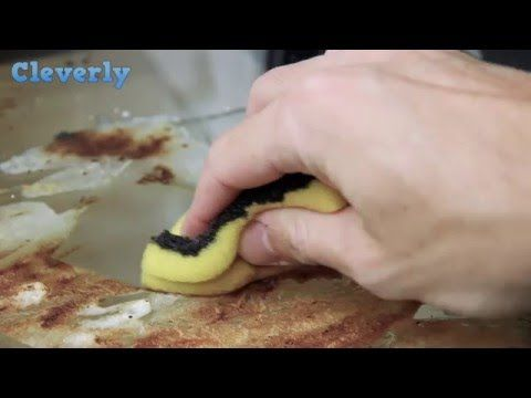 Cleverly video shows how to clean your oven really easily with no scouring required | Metro News