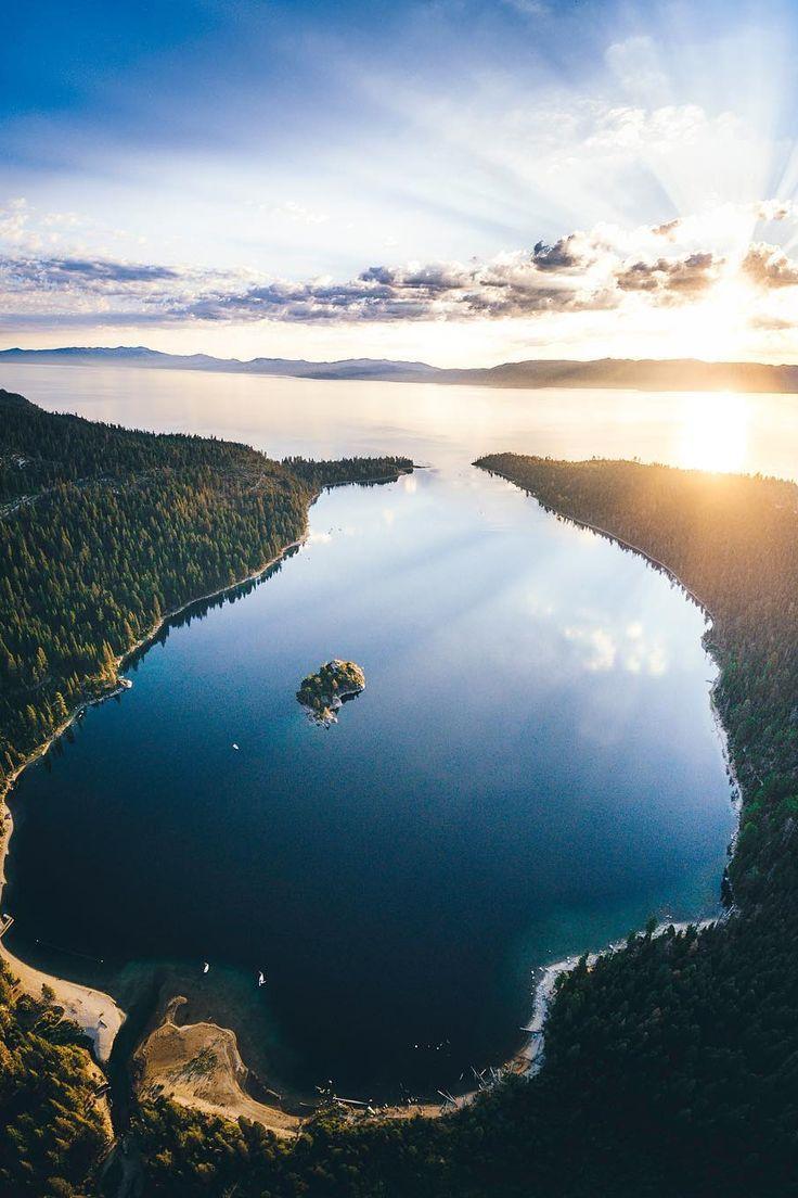 Lake tahoe sunset travel channel pinterest - Lsleofskye Emerald Bay Lake Tahoe