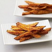 baked spicy sweet potatoes