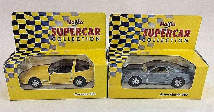 Maisto Supercar Collection- Aston Martin DB7 & Corvette ZE1 #Maisto #AstonMartinDB7andCorvetteZR1