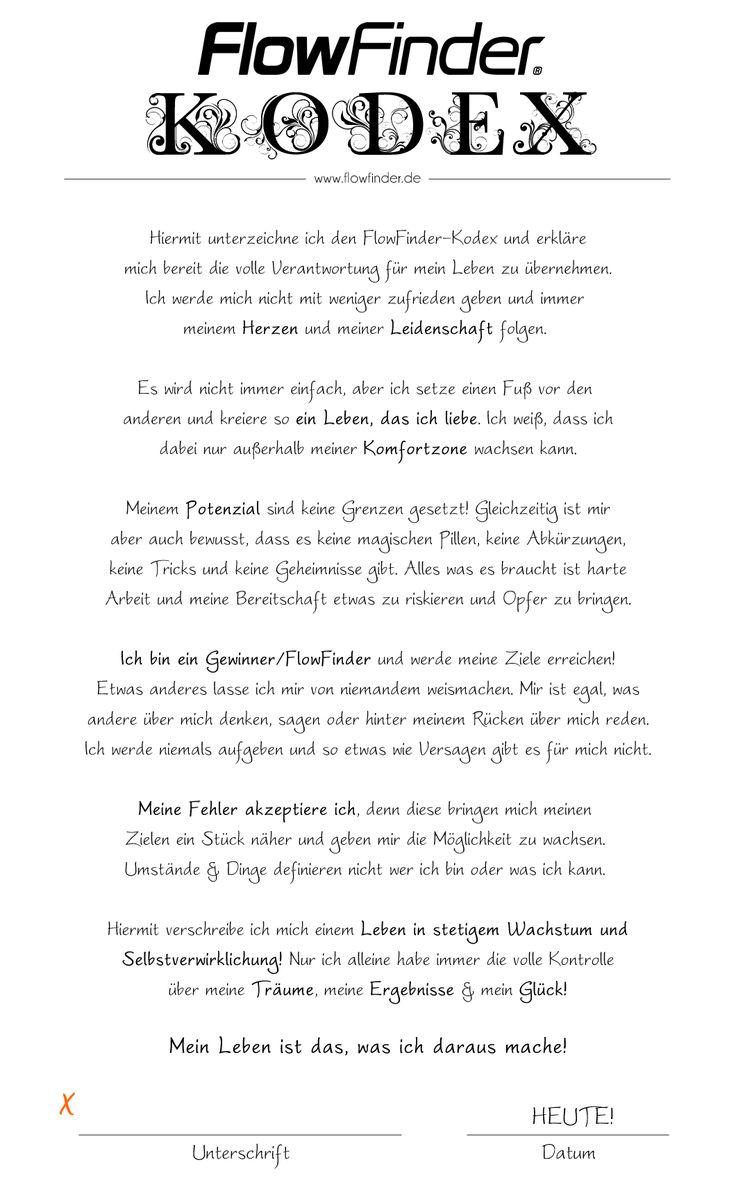 der flowfinder-kodex | hilfreich/helpful | pinterest