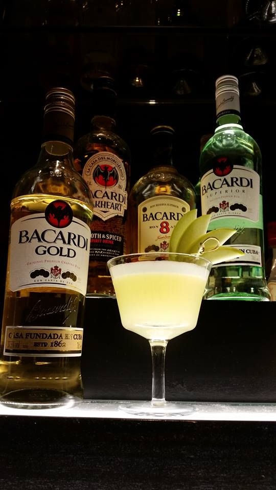 """Our mixologist Micheál O'Shea has made it through to the Irish finals of the prestigious Bacardi Legacy 2015 competition with his drink """"Vamos"""" #bacardilegacy #vamos.      Recipe: •50ml of Bacardi gold •1/8 of an apple •15ml of honey •20ml of egg white •20ml of Cointreau •20ml of freshly squeezed lime juice"""