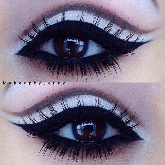 ❇very cute look. I wonder if this can be done with glitter too and still look cute