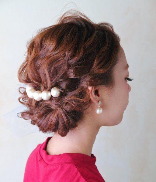 お呼ばれ結婚式のヘアセット!自分で出来る可愛いヘアアレンジまとめ♪ | ギャザリー