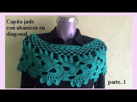 Capita Jade con abanicos en diagonal ( parte 1) - YouTube