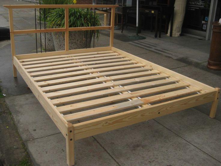 how to build platform bed frame - Queen Platform Bed Frames