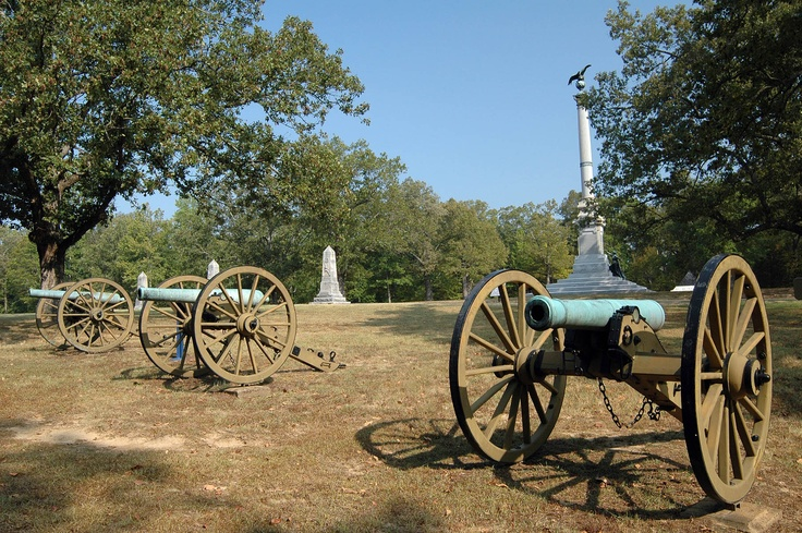 Shiloh National Battlefield - Tennessee. I've been here one time would love to go back!