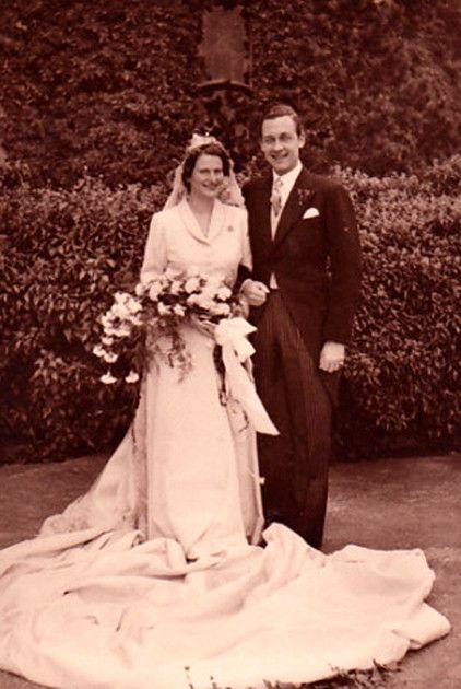 31 août 1951 : Mariage du prince Ernst August IV de Hanovre et de la princesse Ortrud de Schleswig-Holstein-Sonderburg-Glücksburg i